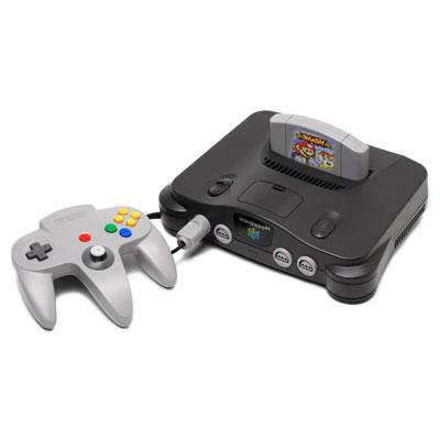 Nintendo 64 with Super Smash Bros